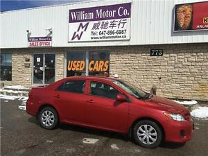 2012 Toyota Corolla CE Special price $9397