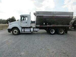 Freightliner Truck with Adams Fertilizer Tender