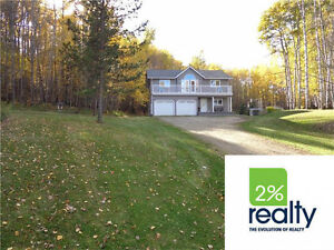 Acreage Close To Red Deer & Sylvan- Listed By 2% Realty Inc.
