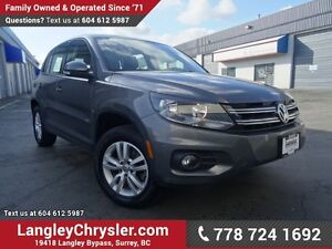 2015 Volkswagen Tiguan Trendline W/ AWD & POWER ACCESSORIES
