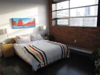 Loft apartment/condo  downtown available for rent March1 $1650