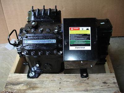 Copeland Discus Compressor Model 4DT3F76KE-TSK-800, 22HP 208-230-460 V 60Hz NEW