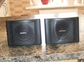 SONY SURROUND SOUND SPEAKERS (2)
