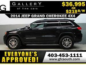 2014 JEEP GRAND CHEROKEE *EVERYONE APPROVED* $0 DOWN $219/BW!