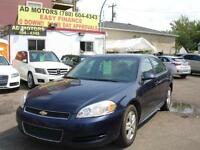 2011 CHEVROLET IMPALA AUTO LOAD 106K-100% APPROVED FINANCING