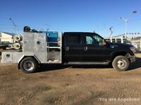 2013 Ford Super Duty F-350 dually WELDING TRUCK WITH MILLER 700