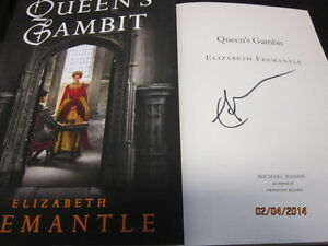 QUEENS-GAMBIT-ELIZABETH-FREMANTLE-SIGNED-2013-1ST-EDITION-HARDBCK-WITH-DJ