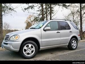 2002 Mercedes-Benz M-Class ml320 SUV, Crossover AWD + Tow Pkg