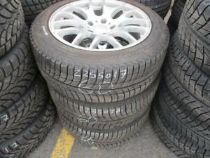 225/50 R17 BMW 3-SERIES WINTER TIRES AND FORCE RIMS PACKAGE (SET OF 4) - USED MICHELIN X-ICE APPROX. 80% TREAD