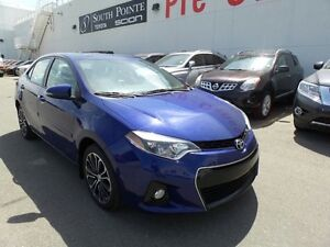 2014 Toyota Corolla S Tech  Navigation   6 Speed Manual  Leather