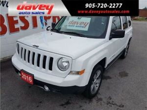2016 Jeep Patriot Sport/North 4X4, SUNROOF, LEATHER INTERIOR