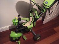 Smart Trike 3 in 1 bike/tricycle