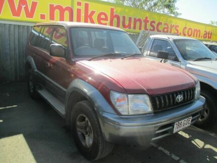 1998 Toyota Landcruiser Prado VZJ95R GXL (4x4) Maroon 4 Speed Automatic 4x4 Wagon Coopers Plains Brisbane South West Preview
