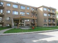 LARGE 2BR in quiet residential COTE ST LUC.  We pay for heating.