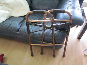 Folding Walker and Crutches