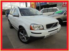 2009 Volvo XC90 P28 MY10 R-Design White Auto Sports Mode Wagon Holroyd Parramatta Area Preview