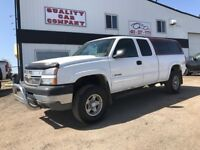 2005 Chevrolet Silverado 2500HD 4x4 6.0 liter V8  $6950. Red Deer Alberta Preview