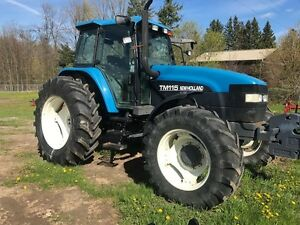 2001 New Holland TM115 Tractor