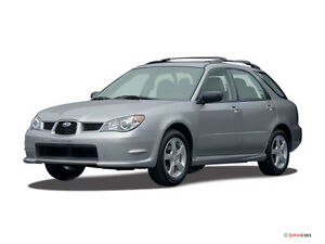 2007 Subaru Impreza 2.5i Familiale manuelle 120 xxxkm