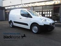 2011 Peugeot Partner 850 S 1.6HDi 90ps E/Pack Internal Racking Diesel white Manu