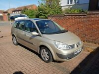 Renault Scenic 7 seater car