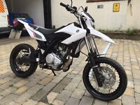 Yamaha WR 125 X 2014 in excellent condition £2800