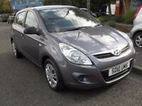 HYUNDAI I20 1.2 CLASSIC 5d 77 BHP 1 OWNER FROM NEW (grey) 2010