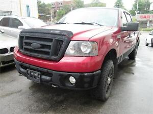 2007 Ford F150 Supercrew 4doors/Accident free/6.5 foot box.