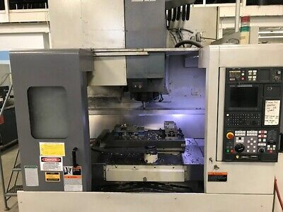 Used Mori Seiki Sv-503a40 Cnc Vertical Mill 2001 Fanuc 31.20.20 Tsc Pallets