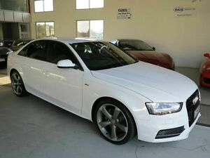 2013 Audi A4 B8 8K MY13 Multitronic White 8 Speed Constant Variable Sedan Albion Brisbane North East Preview