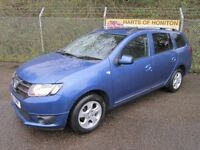 Dacia Logan 0.9 Laureate TCe 5DR Estate (sargasso blue) 2014