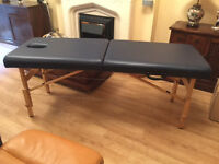 Folding portable massage table with carry case perfect condition