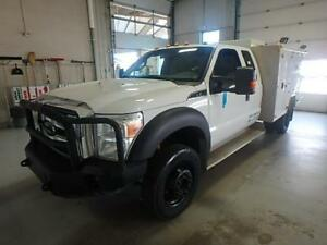 2012 Ford Super Duty F-450 XLT 4X4 Service Truck Air Tank Gas