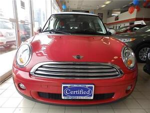 2008 MINI Cooper Hardtop,leather,auto,sunroof, 3Years p/t wrnty