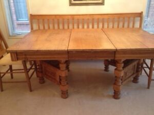 Various furniture - incl Dining room table, desk and more