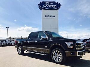 2016 Ford F-150 BOSSES DEMO!! King Ranch, EcoBoost, LOADED.