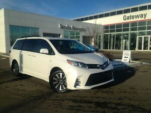 2018 Toyota Sienna Limited AWD 7 Pass, Moonroof, Leather, Heated