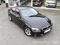 BMW 3 SERIES 2.0 320D EFFICIENTDYNAMICS 4d AUTO 161 BHP £ (black) 2012