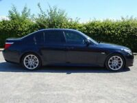 BMW 5 SERIES 3.0 530I M SPORT 4d AUTO (black) 2008