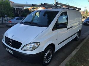 2009 Mercedes-Benz Vito 639 115CDI Limited Edition Van Crew Cab Low Roof 6st 5dr Aut White Manual Croydon Burwood Area Preview