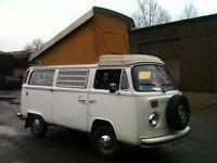 VW Camper - 1976 Westfalia Poptop
