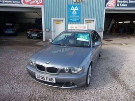 BMW 3 SERIES 2.0 318CI SE 2d 141 BHP (grey) 2005