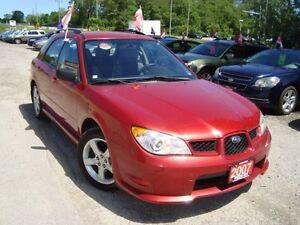 2007 Subaru Impreza 2.5i AWD Hatch. Only 67km Accident Free