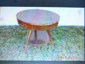 Wanted  Parlour Table Peterborough Peterborough Area image 1