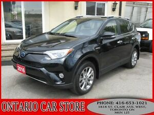 2016 Toyota RAV4 Hybrid Limited AWD NAVIGATION !!!NO ACCIDENTS!!
