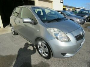 2006 Toyota Yaris NCP91R YRS Grey 4 Speed Automatic Hatchback Werribee Wyndham Area Preview