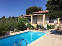 Villa with pool and sea view La Ciotat south of France
