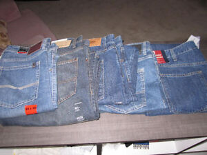 Blue Jeans,Buffalo 32-32,3430..CK,3432,3632; T.H. 3630,4032