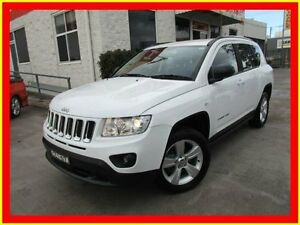 2012 Jeep Compass MK MY12 Sport White 5 Speed Manual Wagon North Parramatta Parramatta Area Preview