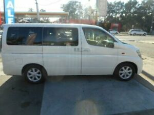2003 Nissan Elgrand HIGHWAY STAR 4WD PEOPLE MOVER White Automatic Van Croydon Burwood Area Preview